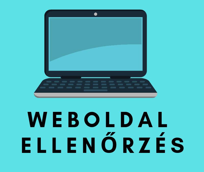 Weboldal ellenőrzés – a leggyakoribb hibák